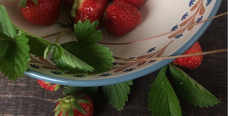 Erdbeeren! Endlich!