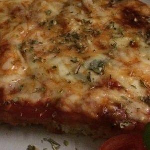 Annette kocht-Pizza
