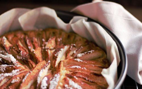Annette kocht- Birnenkuchen