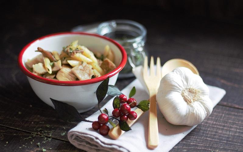 Chiliperlen und Austernpilze – 2, die sich richtig gut vertragen!