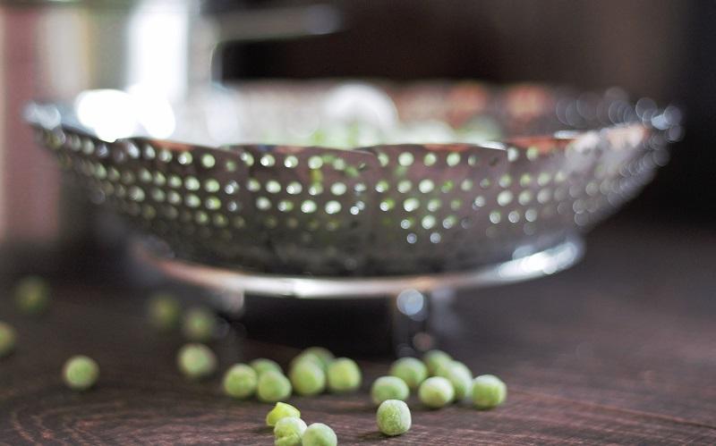 Annette kocht- grüne Erbsen
