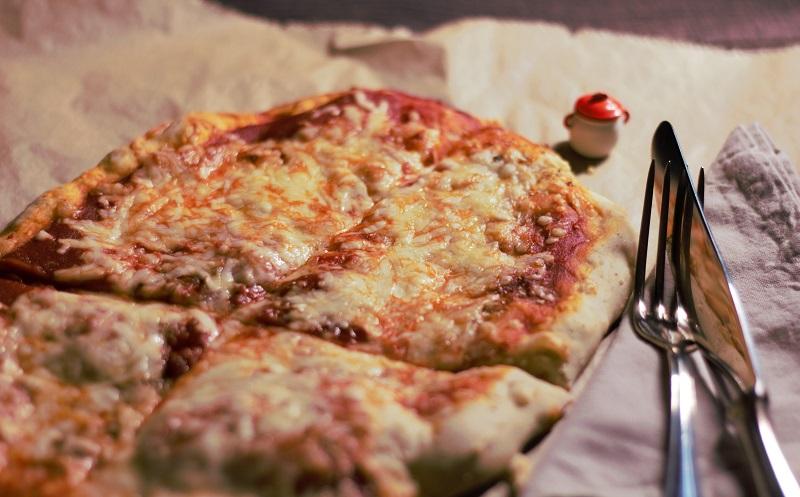 Pizza Margarita, nicht gerade sehr linolsäurearm, aber berechenbar!