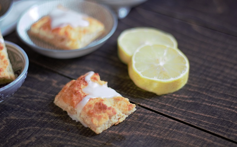 Annette kocht- Zitronenplätzchen