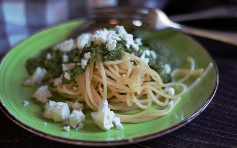 Annette kocht- grüne Soße